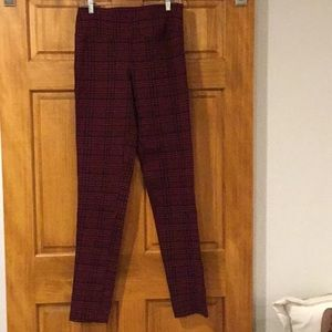 Alloy plaid skinny pants L Large Tall
